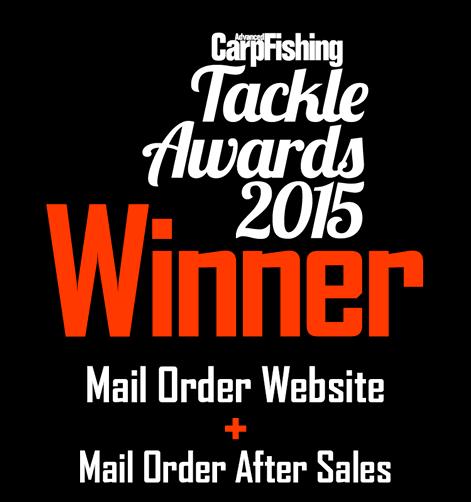 Advanced Carp Fishing Tackle Awards Winner 2015